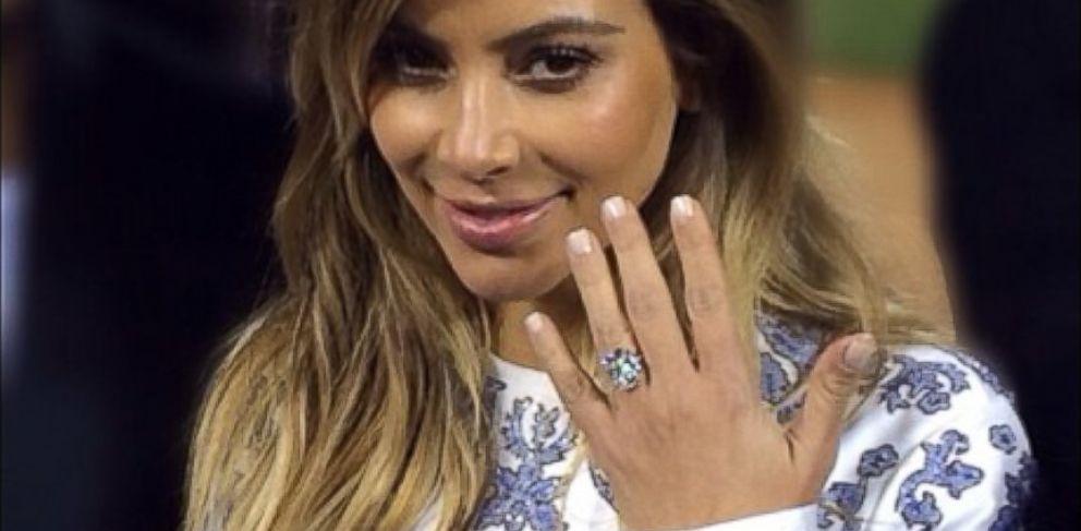 Kim Kardashian And 5 Biggest Celebrity Engagement Rings