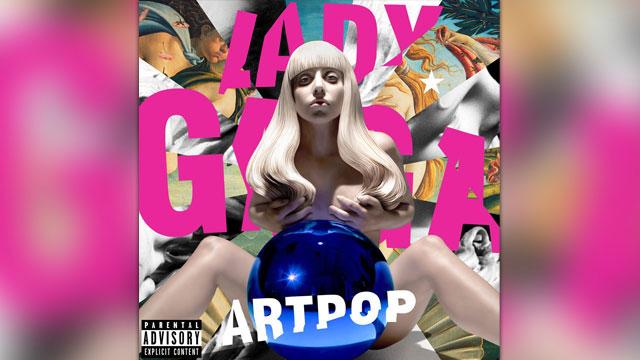 PHOTO:Lady Gaga's latest album, Artpop.