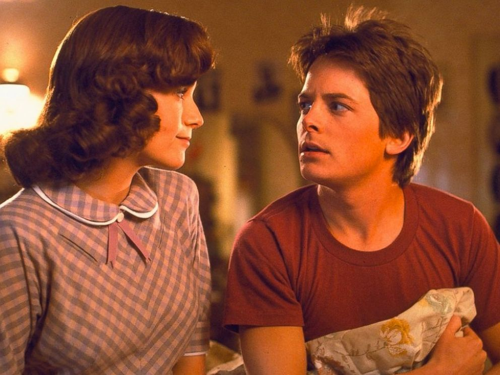 PHOTO: Michael J. Fox and Lea Thompson are seen in Back to the Future, 1985.