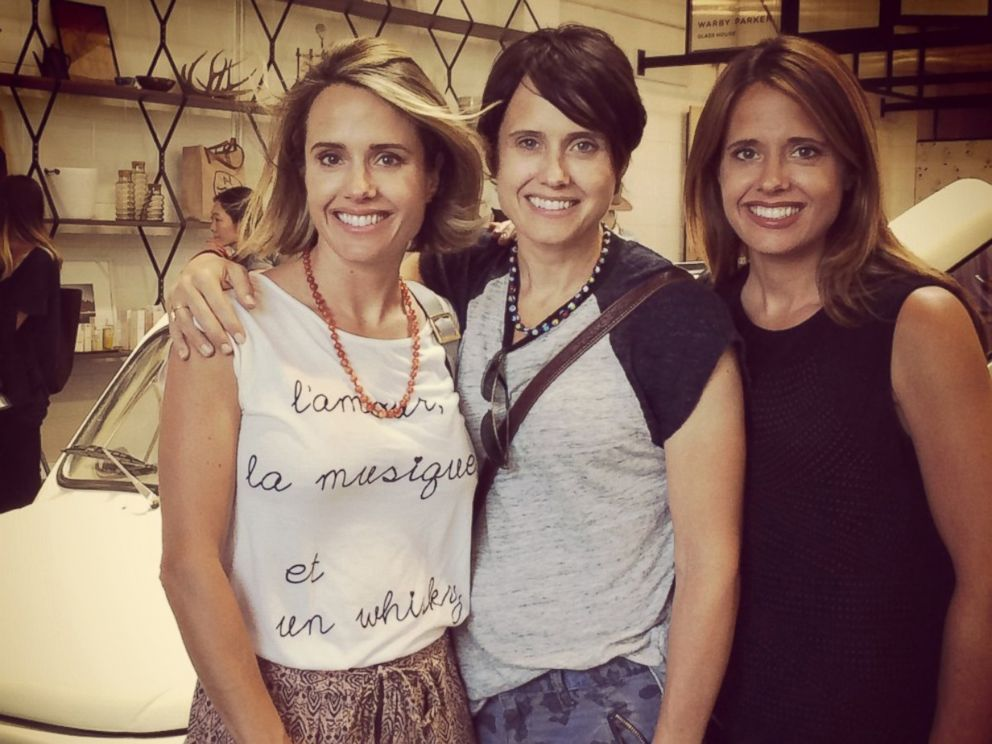 PHOTO: Leanna Creel, center, poses with her sisters Monica Lacy, and Joy Liefeld, right.