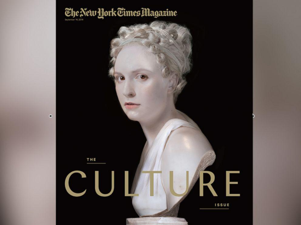 PHOTO: Lena Dunham on New York Times Magazine