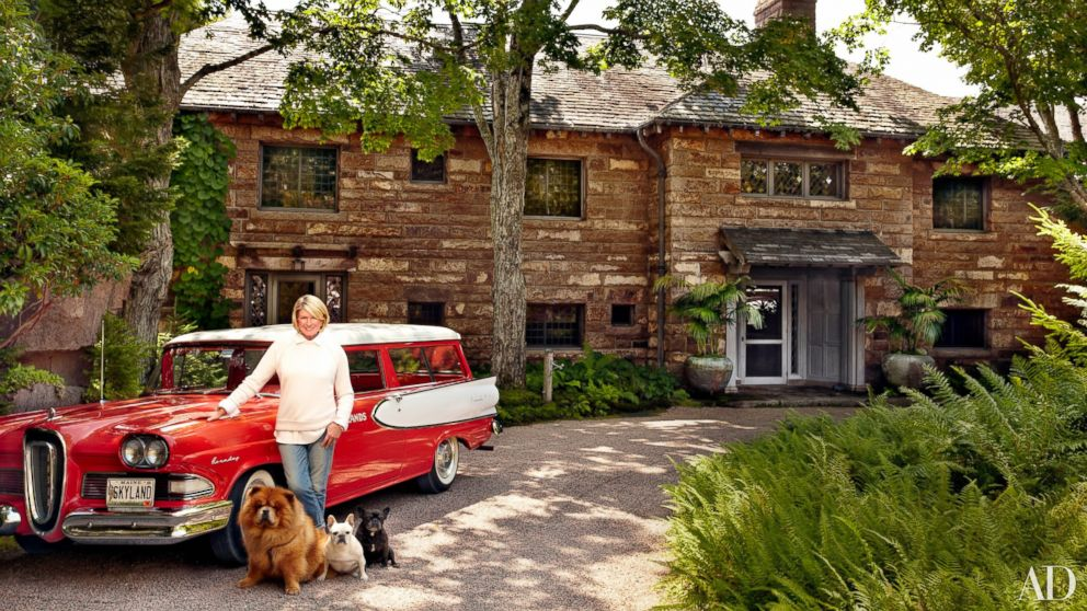 Martha Stewart Shows Off Her 48Bedroom Maine House ABC News Impressive 12 Bedroom House