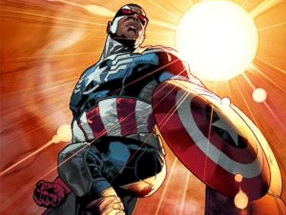 PHOTO: The new Captain America in the Marvel Comics.