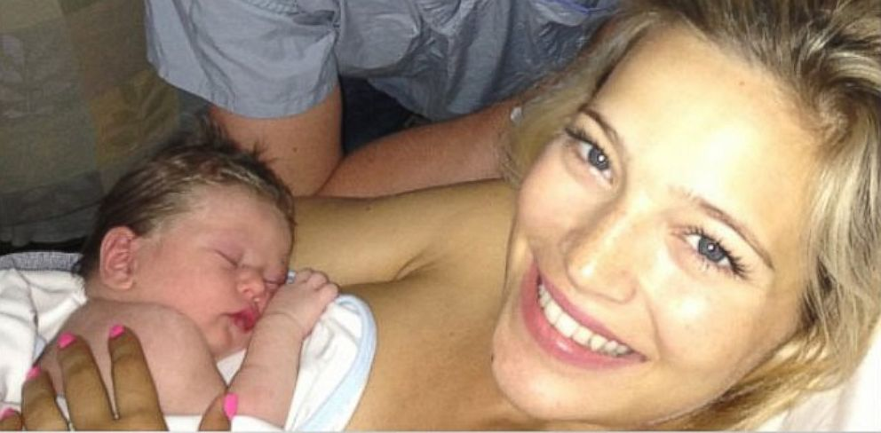 PHOTO: Overjoyed and filled with gratitude at the arrival of our son Noah Bublè.