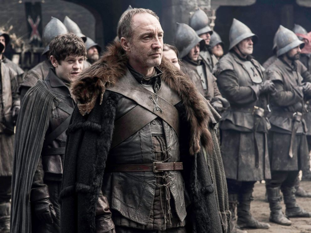 PHOTO: Michael McElhatton, as Roose Bolton, in a scene from season 5 of Game of Thrones.