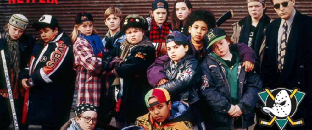 """PHOTO: Promotional image released by Netflix for """"D2: They Mighty Ducks,"""" available for streaming, Aug. 1, 2014."""