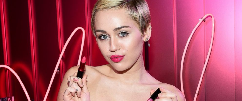 PHOTO: Pop star Miley Cyrus is the face of MACs Viva Glam cosmetic line for 2015.