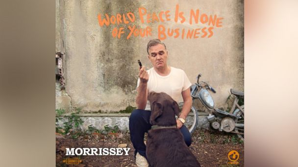 "PHOTO: Morrisseys ""World Peace is None of Your Business."""