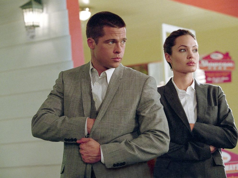 PHOTO: A scene from the movie Mr. and Mrs. Smith, is seen here.