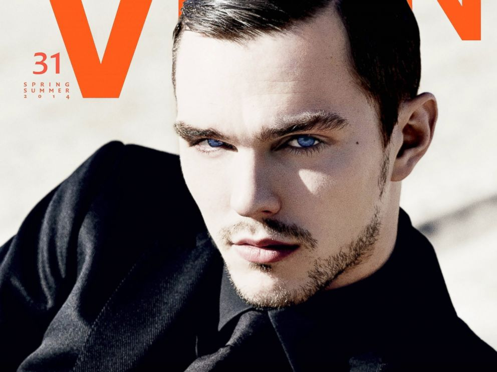 PHOTO: Nicholas Hoult on the cover of V Man.