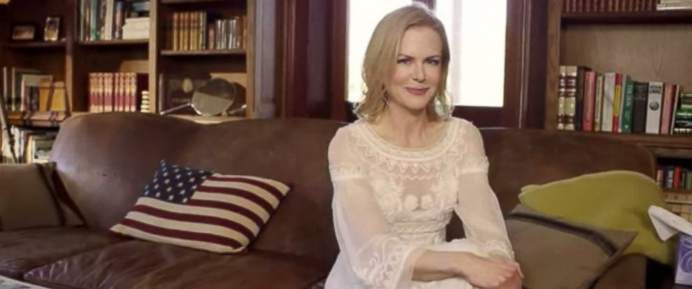 Nicole Kidman Vogue House Tour