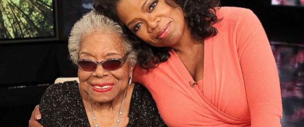 PHOTO: Oprah posted this photo to Instagram of her and Maya Angelou, May 28, 2014.