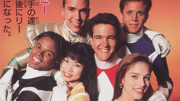 "PHOTO: The original ""Power Rangers"" cast, circa 1993."