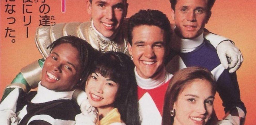 """PHOTO: The original """"Power Rangers"""" cast, circa 1993."""
