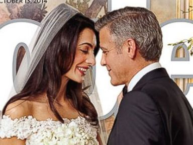 First Look At George Clooney And Amal Alamuddin S Wedding Photos Abc News