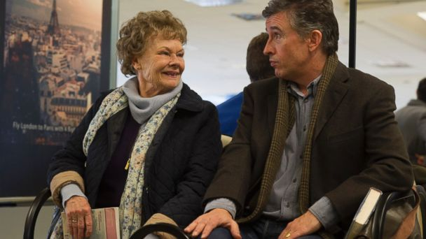 "PHOTO: Judi Dench and Steve Coogan in ""Philomena."""