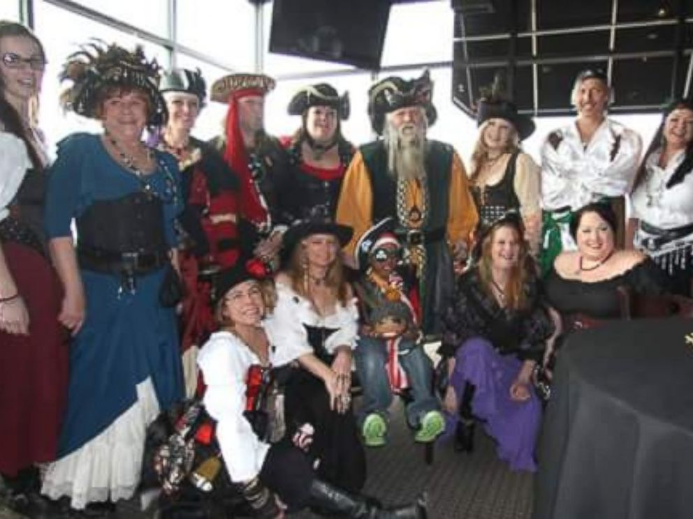 PHOTO: Donovan Lyle Jr. and the cast of Captain Fishbones and the Pirates of the Forgiven.