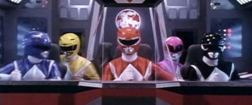 "PHOTO: Scene from the TV show, ""The Mighty Morphin Power Rangers."""