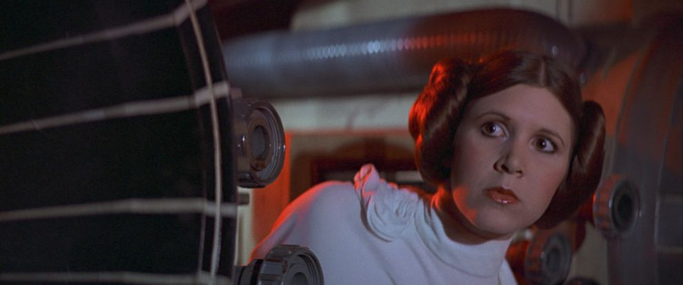 "PHOTO: Princess Leia is seen in an earlier ""Star Wars"" installment."