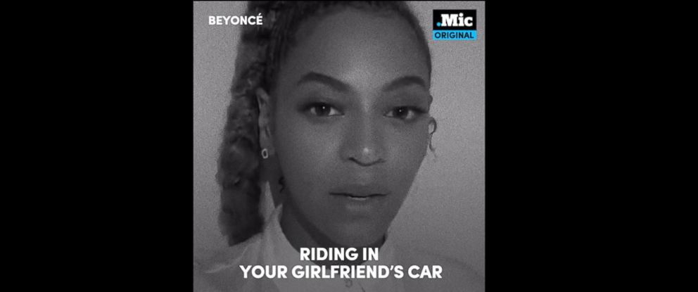 """PHOTO: Beyonce is seen here in a PSA from Mic titled """"23 ways You Could Be Killed IF You Are Black in America."""""""