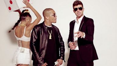 PHOTO: Robin Thickes Blurred Lines