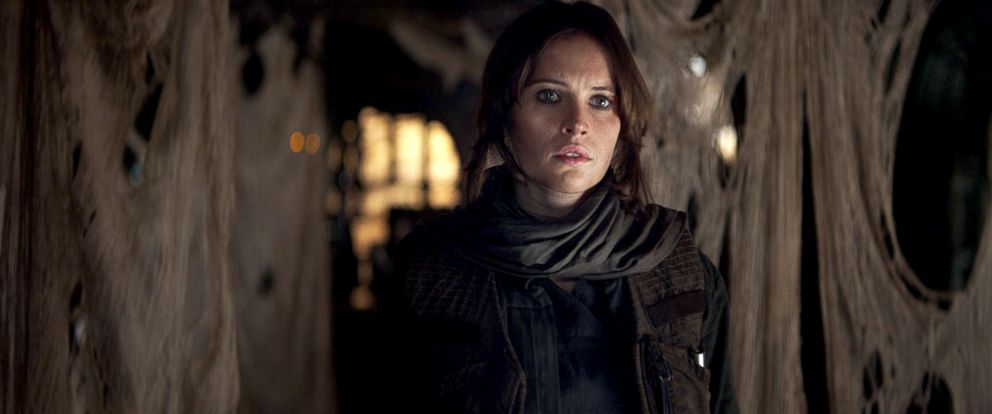 "PHOTO: Felicity Jones in a scene from ""Rogue One: A Star Wars Story."""