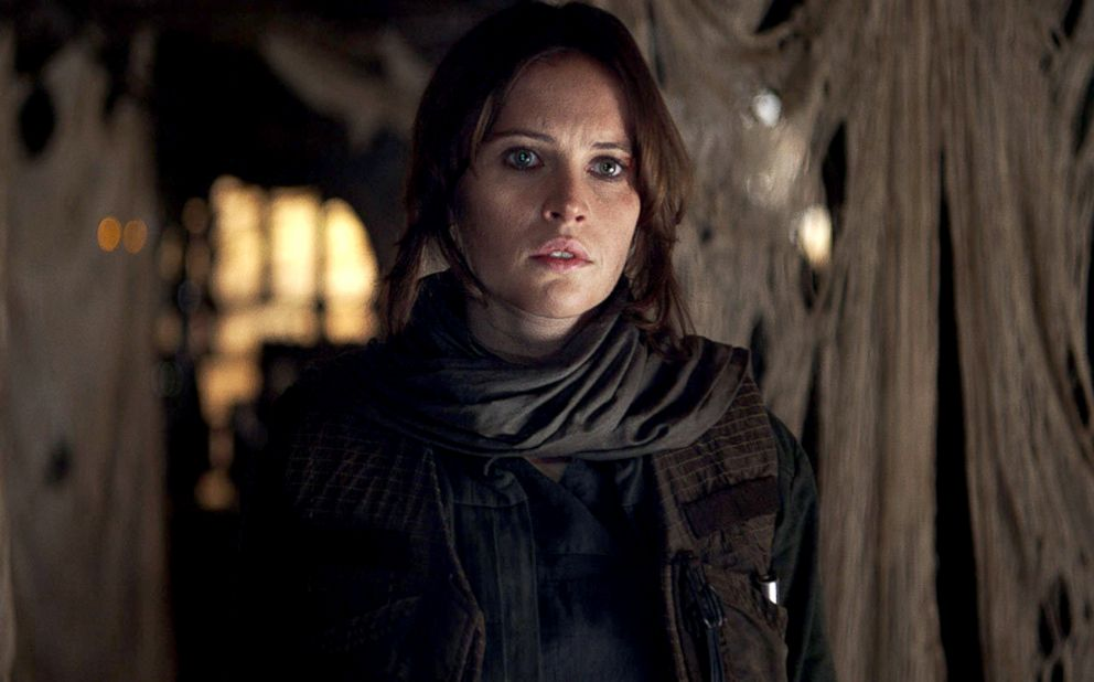 PHOTO: Felicity Jones in a scene from Rogue One: A Star Wars Story.