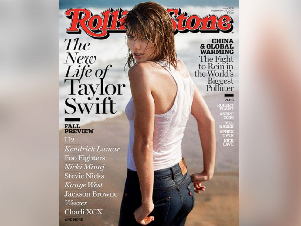 PHOTO: Taylor Swift on the September 2014 issue of Rolling Stone.