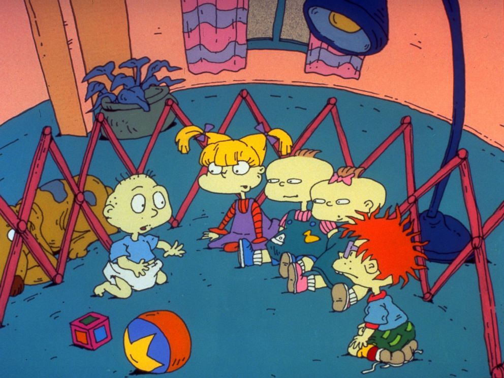 Photo The Animated Cartoon Series Rugrats First Aired On August 11 1991 25