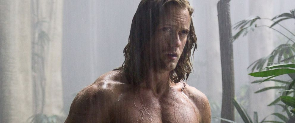 "PHOTO: Alexander Skarsgard as Tarzan in ""The Legend Of Tarzan."""