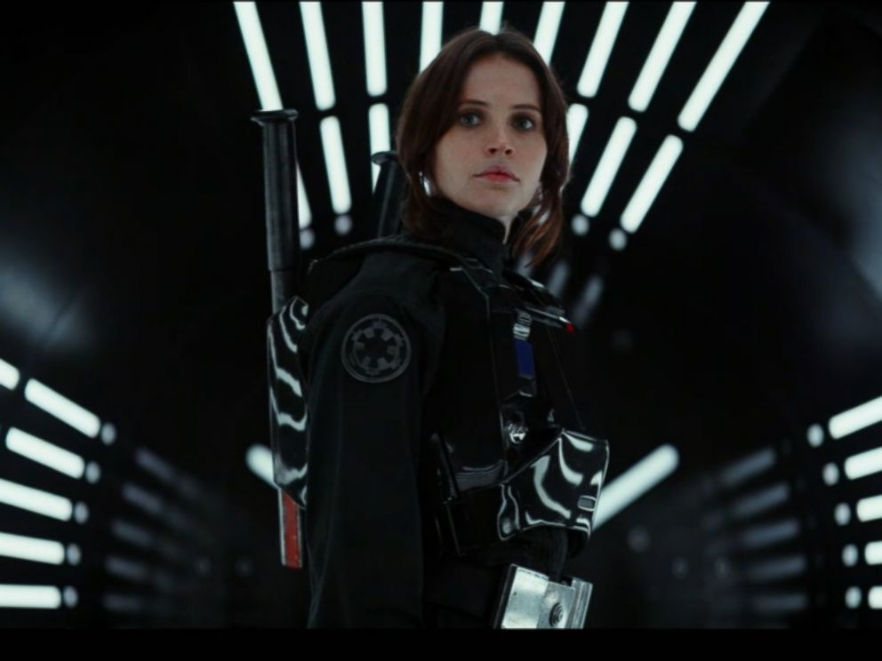 PHOTO: Rogue One: A Star Wars Story First trailer is seen here.