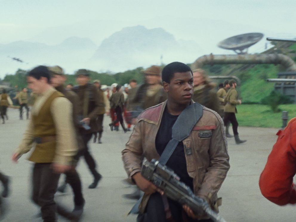 PHOTO: A scene from the new trailer Star Wars: Episode VII - The Force Awakens.