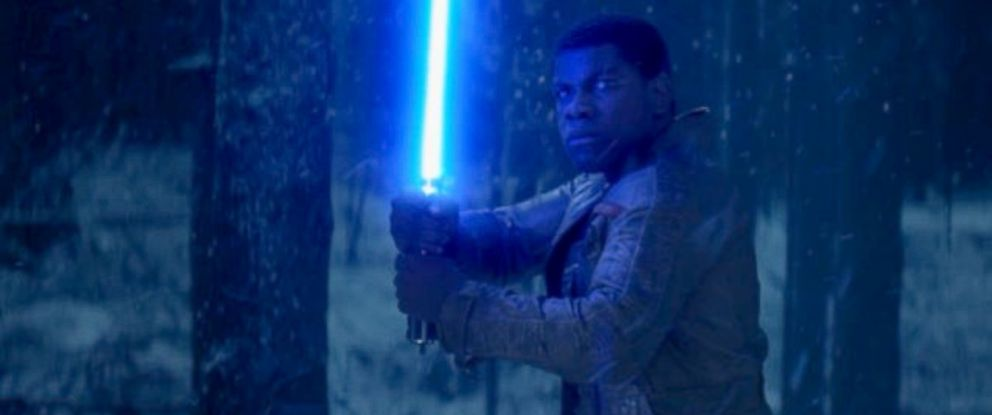 """PHOTO: Scene from the new movie """"Star Wars: The Force Awakens."""""""