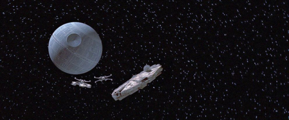 """PHOTO: Scene from the movie """"Star Wars: A New Hope."""""""