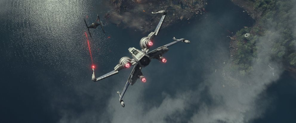 "PHOTO: A scene from the new trailer ""Star Wars: The Force Awakens."""