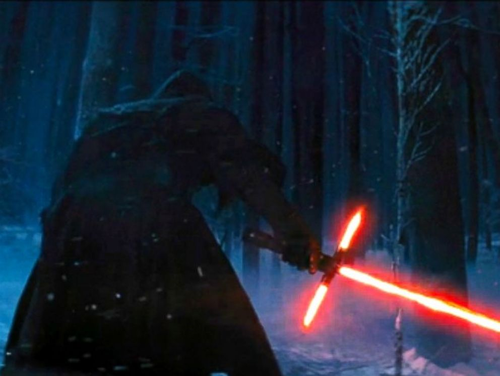 PHOTO: Kylo Ren is pictured in Star Wars: The Force Awakens trailer.