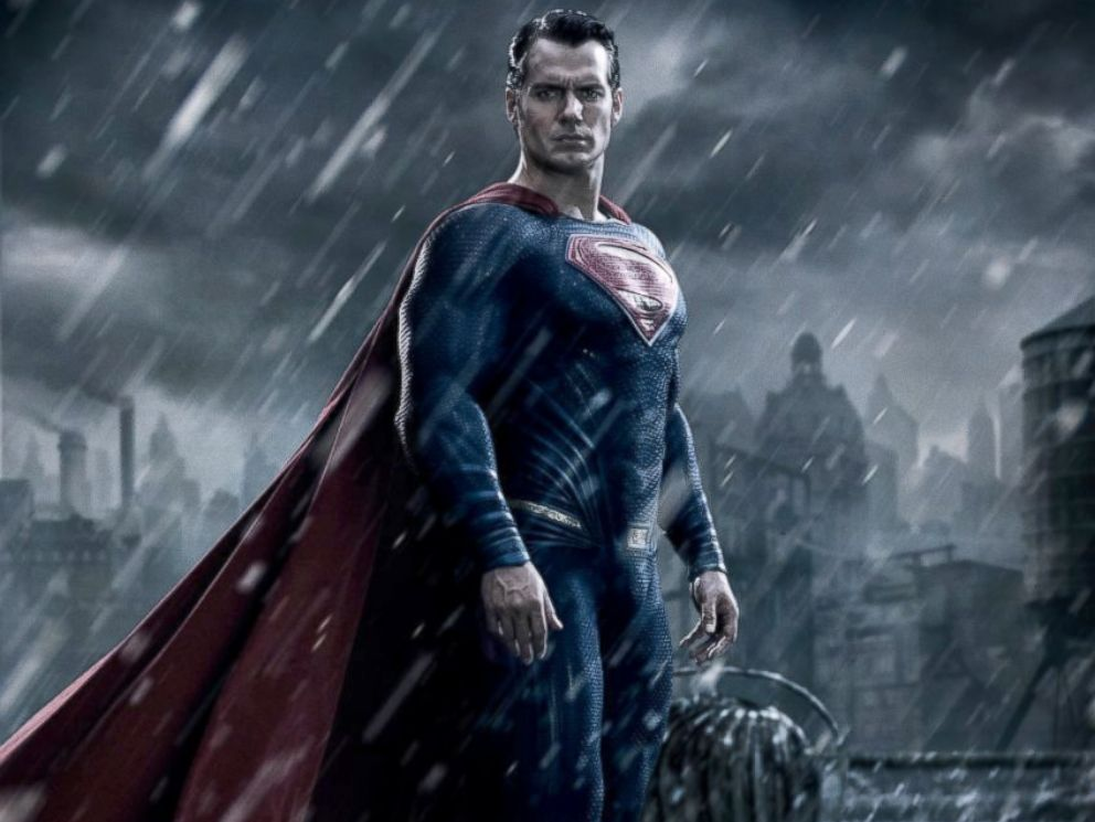 PHOTO: Henry Cavill as Superman in Batman v Superman: Dawn of Justice.