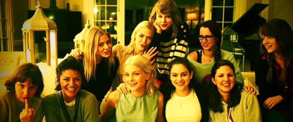 PHOTO: Taylor Swift shared this image from a party with friends to her Instagram, July 6, 2014.