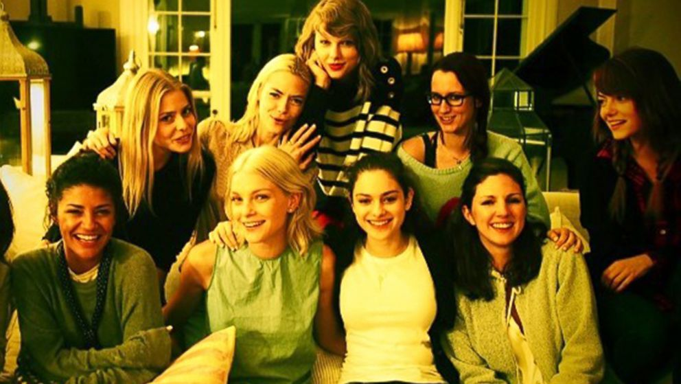 Fun Photos! Taylor Swift Throws a Celeb-Packed Weekend Bash - ABC News