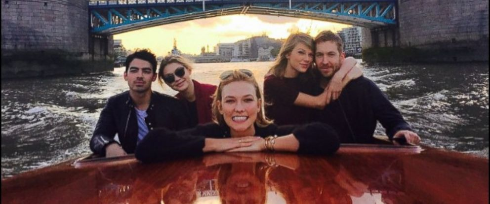 "PHOTO: Taylor Swift posted this photo on Instagram with this caption: ""Little known fact: Karlie is secretly an unofficial historian/London tour guide. Kind of, June 29, 2015."