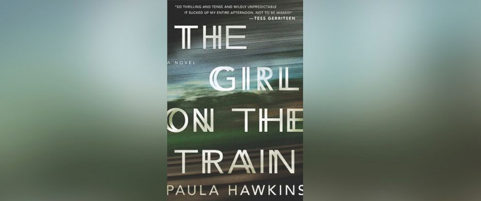 """PHOTO: The book """"The Girl on the Train"""" written by Paula Hawkins is seen here."""