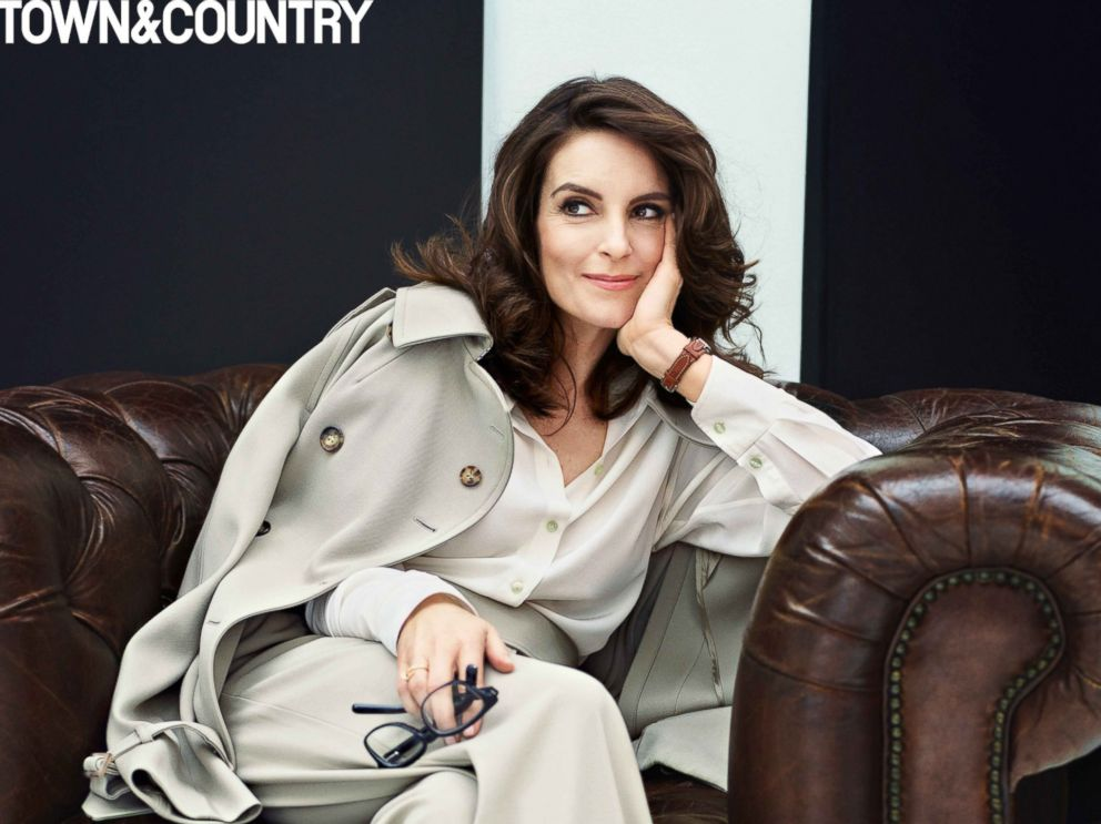PHOTO: Tina Fey is featured in Town & Country magazines April 2016 issue.
