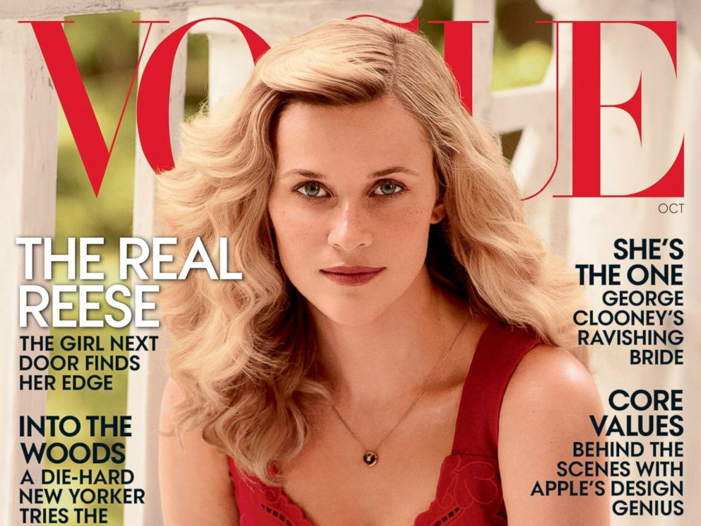 PHOTO: Reese Witherspoon on the October cover of Vogue, on newsstands Oct. 1, 2014.