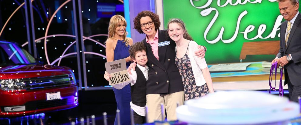 """PHOTO: Math teacher Sarah Manchester won the $1 million grand prize on """"Wheel of Fortune."""" The episode aired Sept. 17, 2014."""