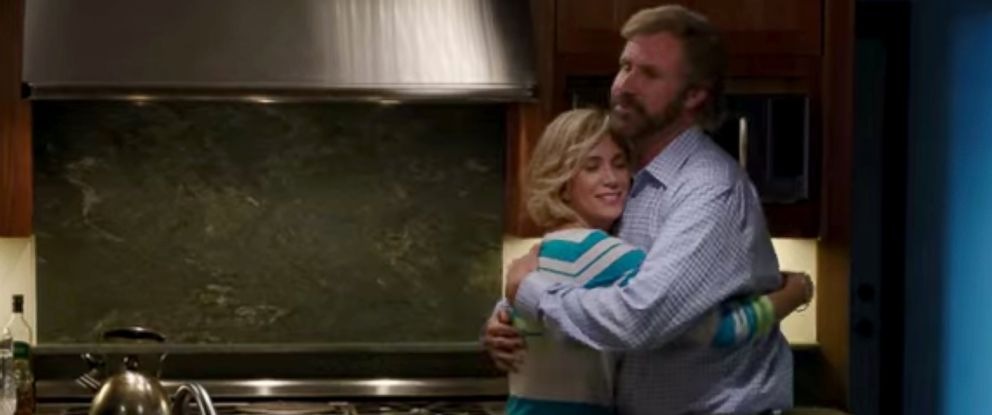 """PHOTO: Kristen Wiig and Will Ferrell in a scene from the Lifetime movie, """"A Deadly Adoption."""""""