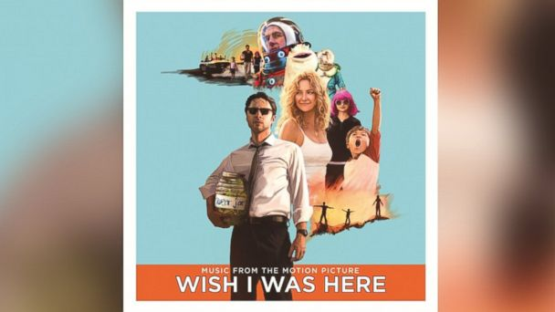 "PHOTO: The soundtrack to ""Wish I Was Here,"" curated by the movies director Zach Braff."
