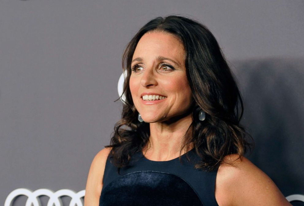 PHOTO: Julia Louis-Dreyfus attends an event at the Dream Hollywood, Sept.14, 2017 in Hollywood, Calif.