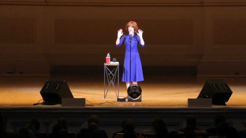 PHOTO: Kathy Griffin performed at Carnegie Hall, New York, a year after she thought her career was going to end.