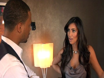 Video: Working out with Kim Kardashian.