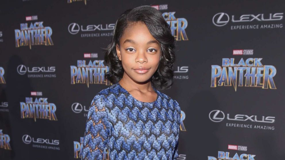 Marsai Martin at the Los Angeles World Premiere of Marvel Studios' BLACK PANTHER at Dolby Theatre on Jan. 29, 2018 in Hollywood, Calif.